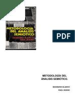 Blanco Desiderio Bueno Ra l 1980 - Metodolog a Del an Lisis Semi Tico