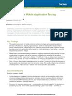 Market Guide for Mobile Appl 273008