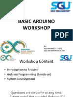 Basic Arduino Workshop