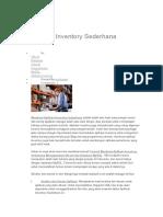 Aplikasi Inventory Sederhan2