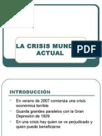 Tema 14 - La Crisis Mundial Actual