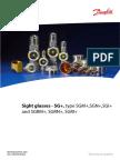 Sight Glass and Moisture Indicator (SS)