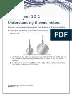 IGCSE Physics Worksheet 10.1