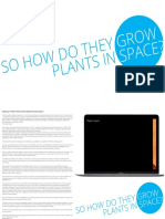 How Do They Grow Plants on the Iss