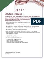 IGCSE Physics Worksheet 17.1