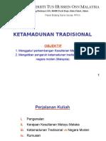 M5 KETAMADUNAN TRADISIONAL