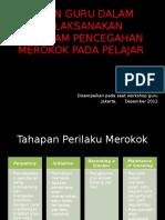 Materi III_Peran Guru Dalam Melaksanakan Program Pencegahan Merokok Dikalangan Pelajar