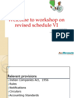 Revised Schedule VI PPT