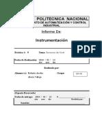 informe 9 instrumentacion