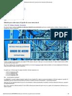 Método Para Seleccionar El Grado de Acero Estructural _ Estructurando