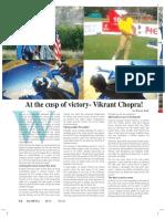 At the cusp of Victory- Vikrant Chopra