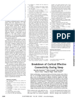 2005 MASSIMINI - Breakdown of Cortical Effective Connectivity During Sleep