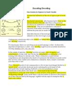 Semiotics Semana 9 DB Notes -Encoding and Decoding