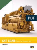 Caterpillar CG260 - 60 y 50 Hz