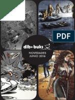 Novedades de Dibbuks para junio de 2016