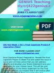 CRJ 422 GENIUS Teaching Effectively /Crj422genius.com