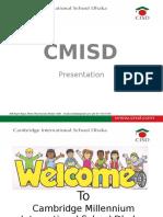 CMISD Presentation