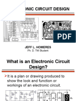 Electronic Circuit Design My Presentation Final