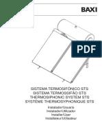 Sistema Termosifónico Sts Manual Instalador