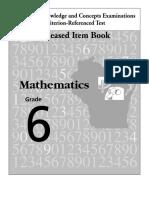 Math Release 6