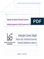 Prezentarea Optionalelor de Informatica-martie 2015