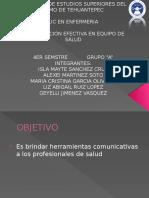 Comunicación Efectiva en Equipo de Salud