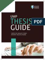 Thesis Guideline Procedures