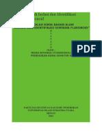 Tugas Makalah Isolasi Dan Identifikasi Senyawa Flavonoid