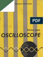 Know Your Oscilloscope - Paul C. Smith - 1958