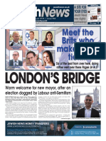 12 May 2016, Jewish News, Issue 950