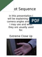 8 shot sequance presentation
