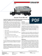 Vacuum Truck SDC-100
