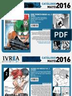 Proximas Novedades Ivrea - Mayo 2016