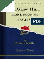 Handbook of English Mcgraw Hill