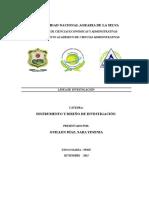 Definiendo La Linea de Investigacion y El Nivel Investigativo (1)