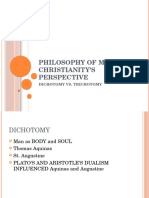 Philosophy of Man; Christianity; Human Spirit; Spirituality; Mysticism