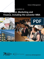Distance Learning Courses on Management, Marketing & Finance