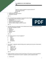 Grile Analiza Strategica a Mediului Coucurential ASMC