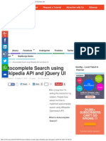 Autocomplete Search Using Wikipedia API & JQuery _ W3lessons.info