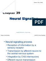 Ch39_lecture Neural Signaling