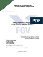 Amplificador Isolador ISO512