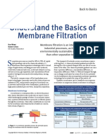 BASICS of Membrane Filtration