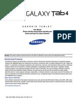 Samsung-galaxy Tab 4 10 1-User Guide-En