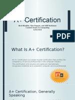 A+ Certification ppt - Copy