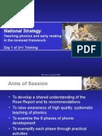 Teaching Phonics Day 1