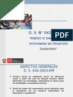 Ds n 042-2003-Em Anexo IV Dac-(Modificado)