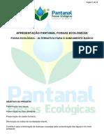 Apresentação Pantanal Fossas Ecológicas 2016
