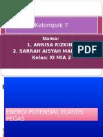 Energi potensial elastis pegas - Annisa Rizkina Hernita dan Sarrah Aisyah Mansyuri.pptx