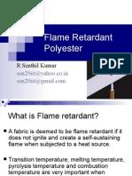 Flame Retardant Polyester