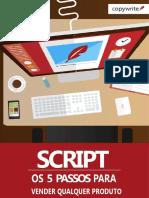 Script Os 5 Passos Para Vender Qualquer Produto
